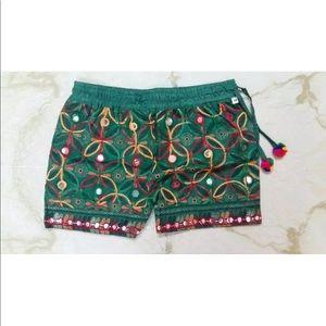 kutch Shorts - Vintage antique stylish shorts